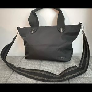 Ted Baker black nylon purse